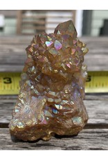 Quasar Sunset Aura Spirit Quartz-Zirconium Treated