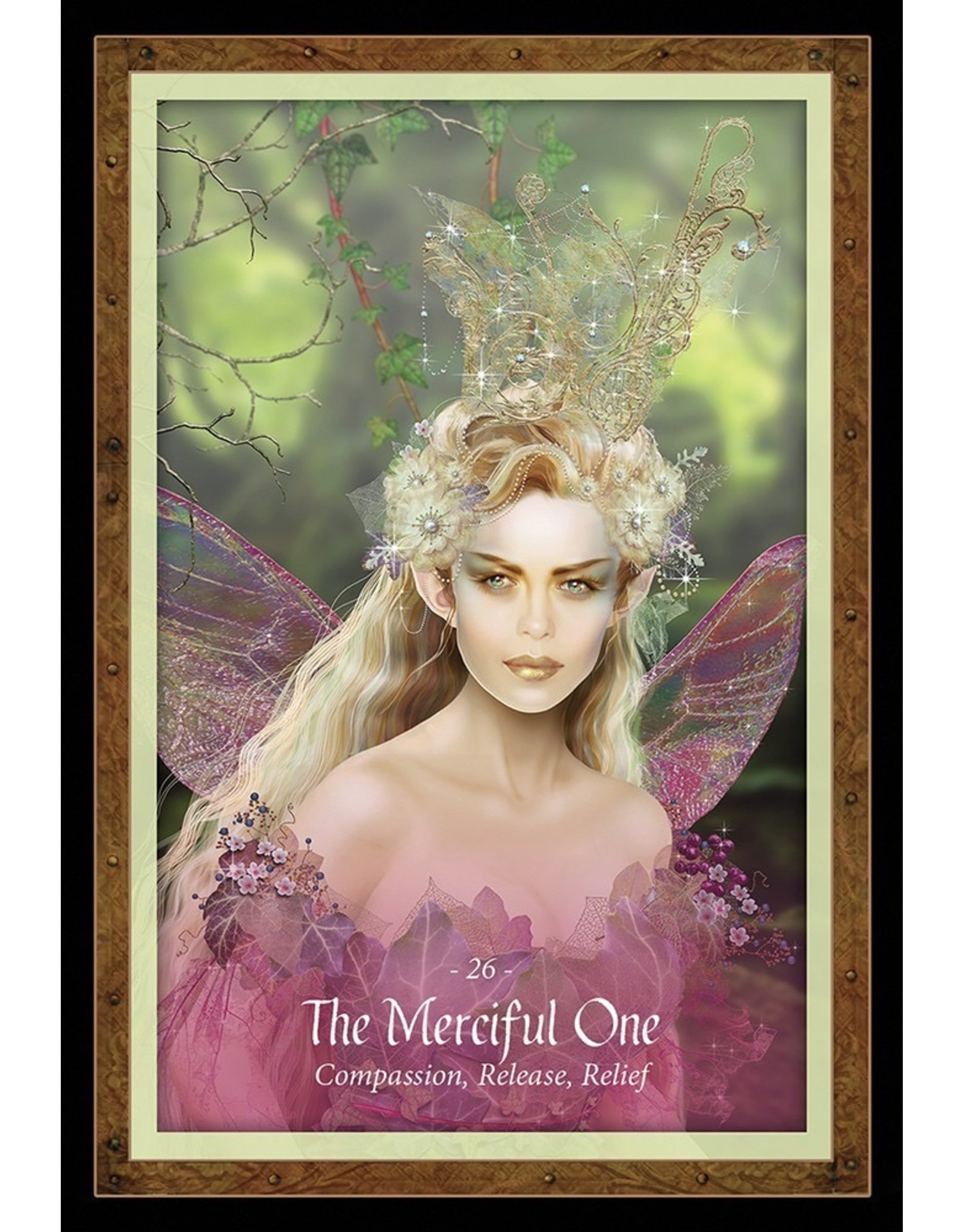 US Games The Faery Forest: An Oracle of the Wild Green World