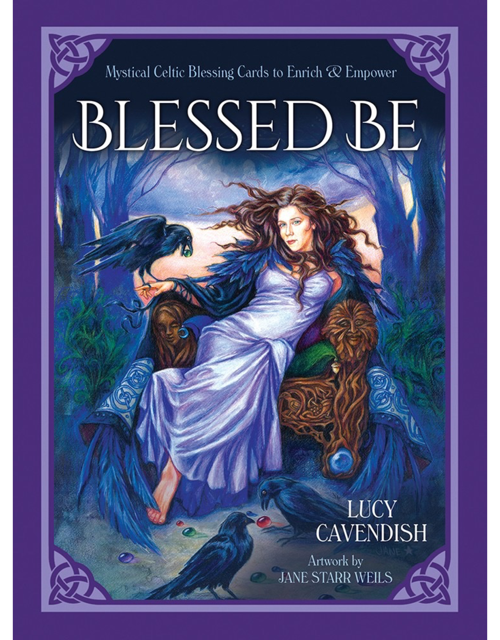 US Games Blessed Be Cards