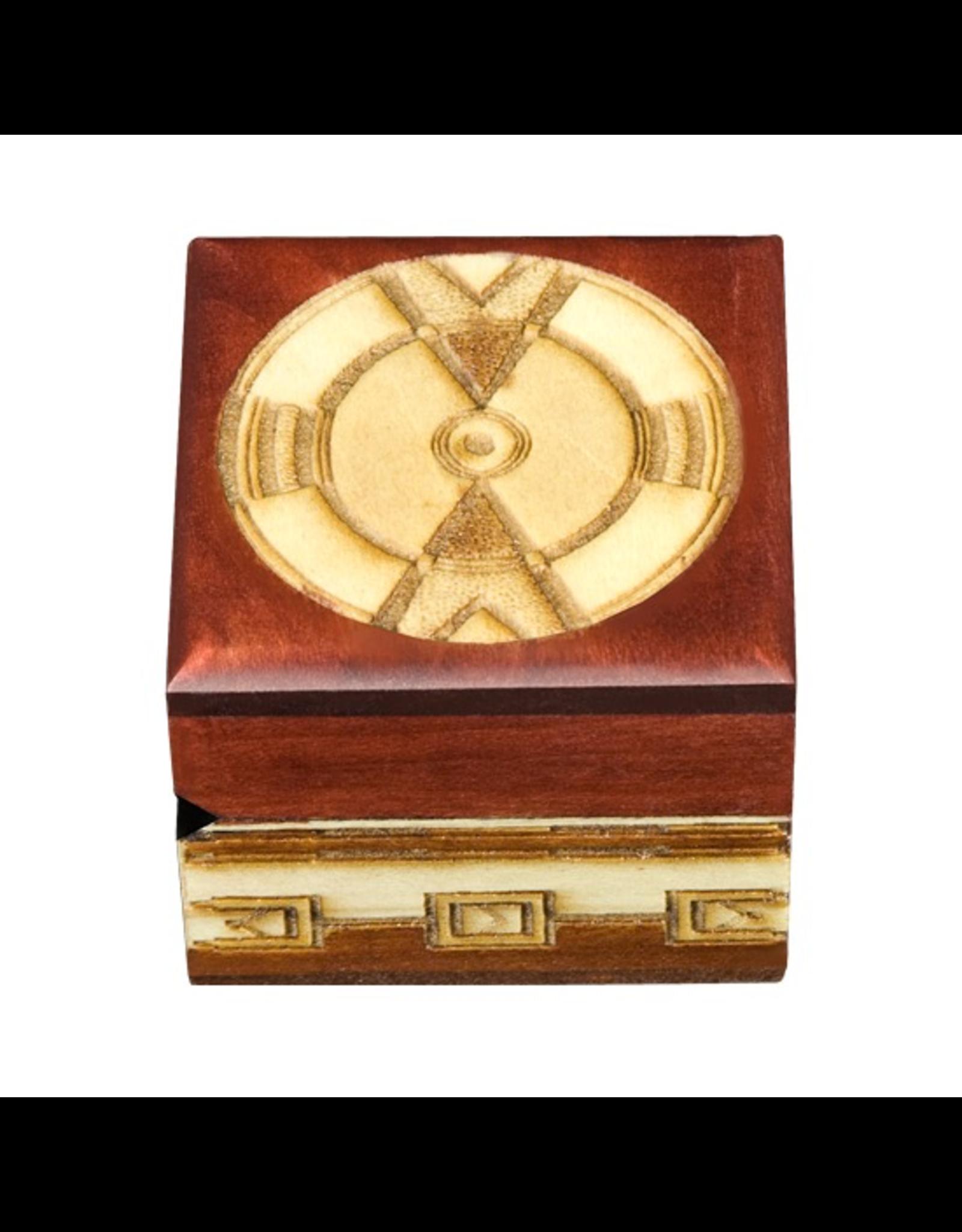 Enchanted Boxes Tribal Wood Box