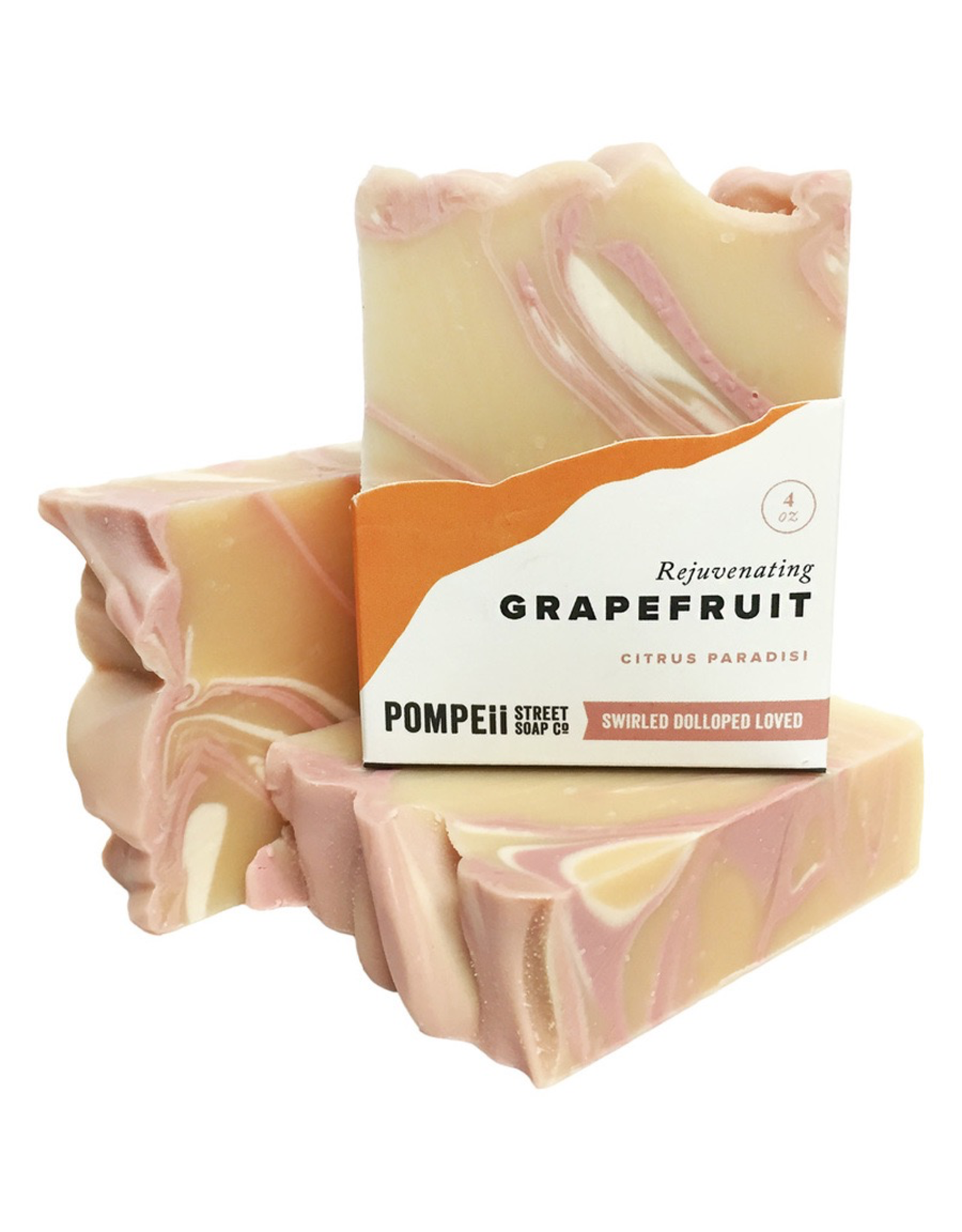 Pompeii Grapefruit Soap 4 oz.