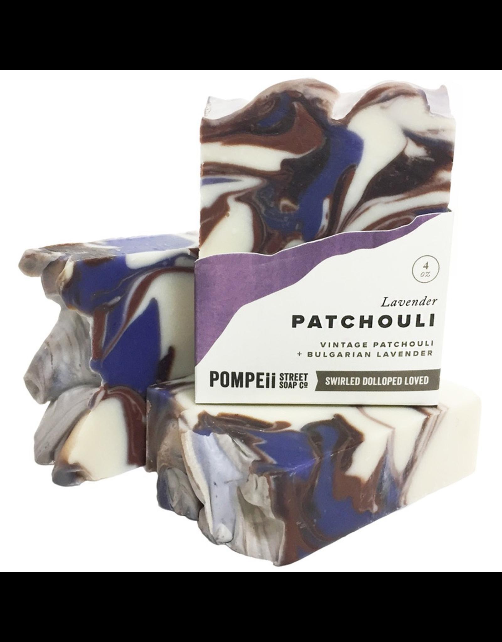 Pompeii Lavender Patchouli Soap 4 oz
