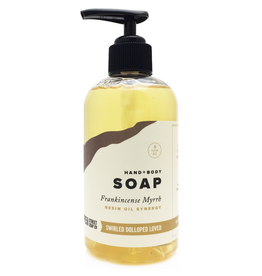Pompeii Hand + Body Soap Frankincense Myrrh 8 oz.