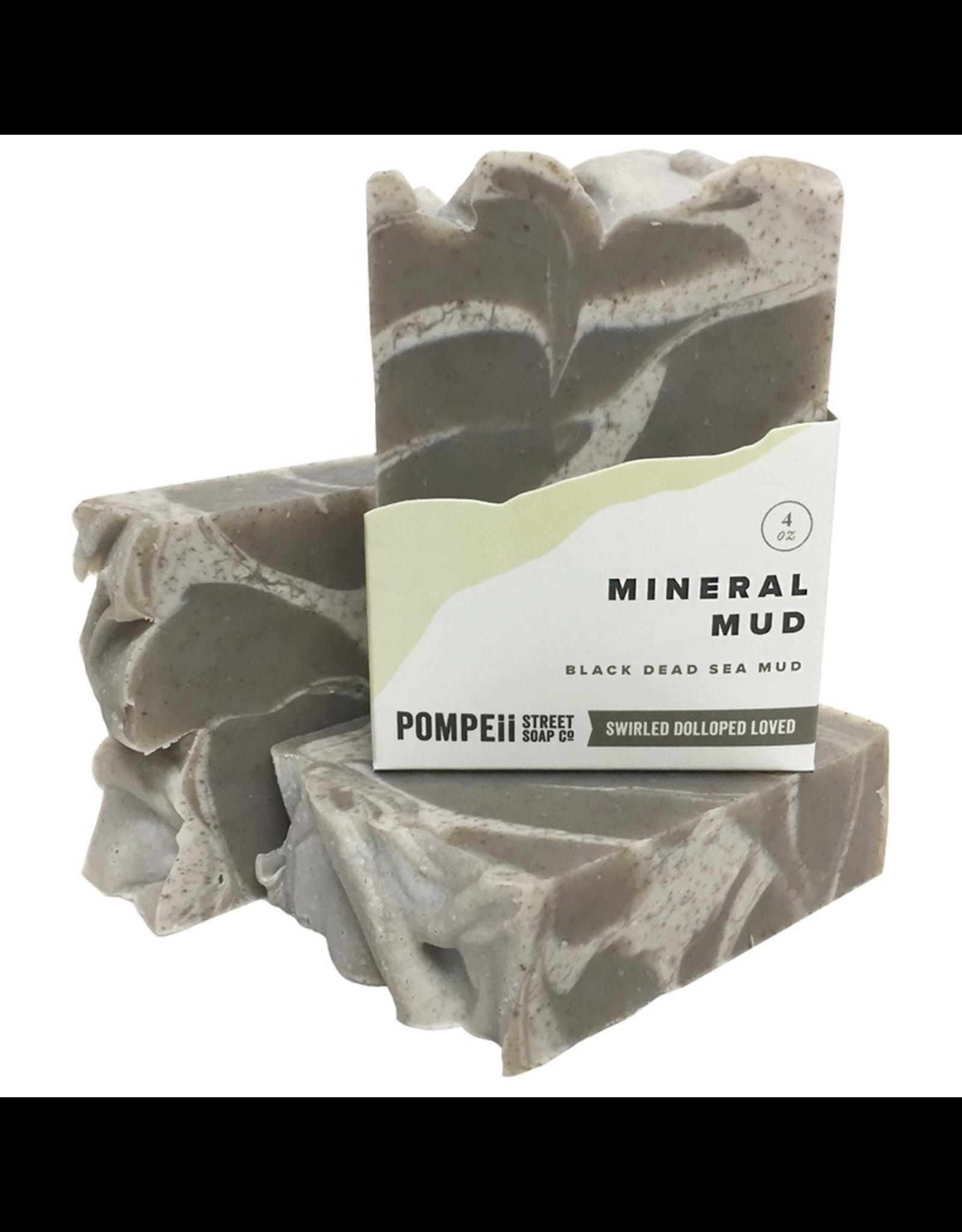 Pompeii Mineral Mud  Soap 4 oz.