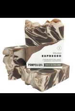 Pompeii Chocolate Espresso Soap 4 oz.