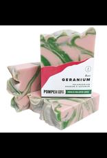 Pompeii Rose Geranium Soap 4 oz.