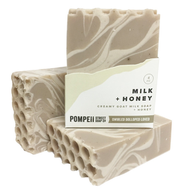 Pompeii Milk & Honey Soap 4 oz.