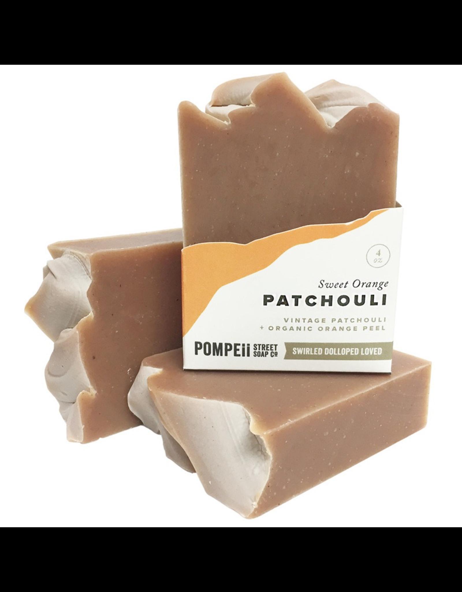 Pompeii Orange & Patchouli Soap 4 oz.