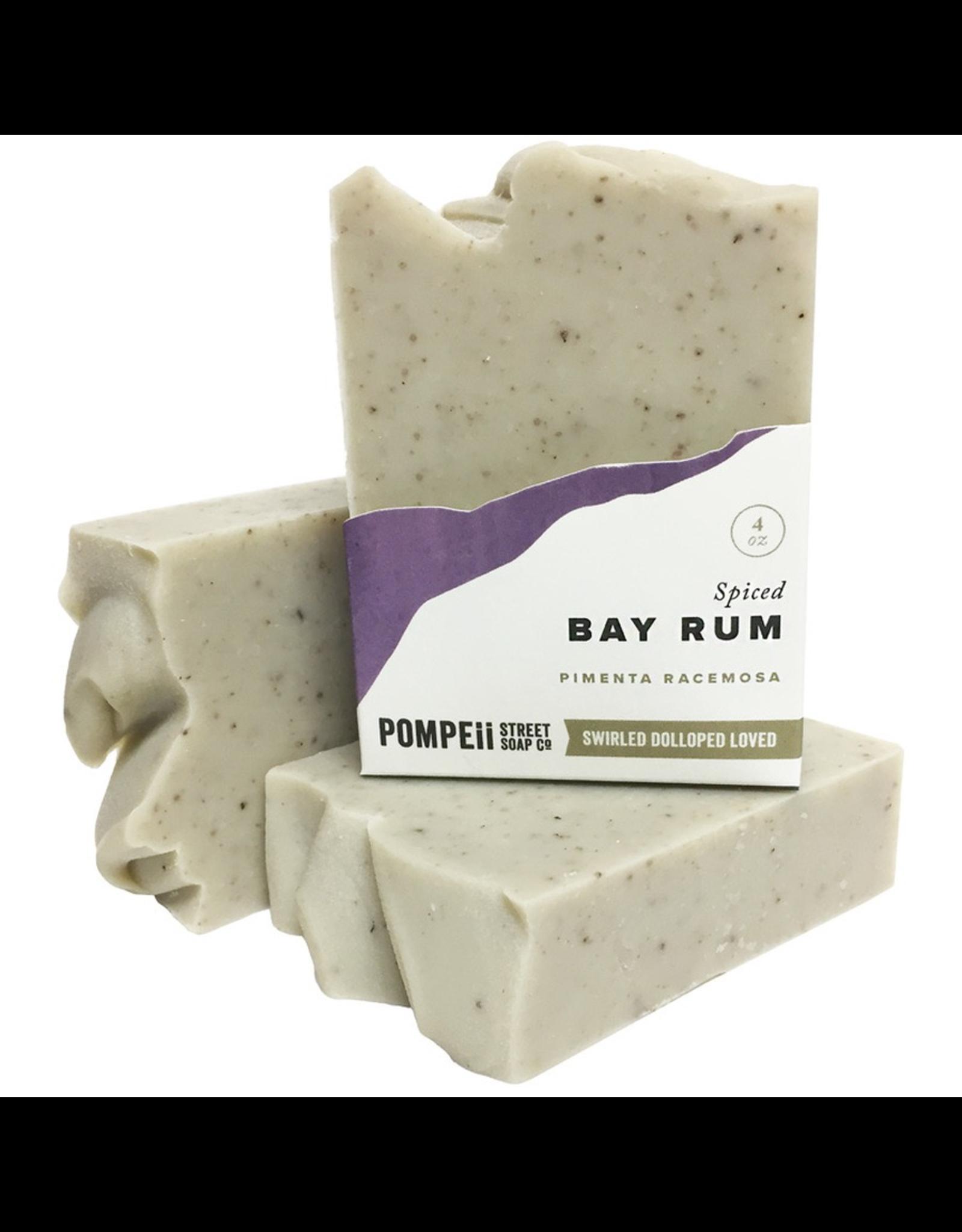 Pompeii Bay Rum Soap 4 oz.