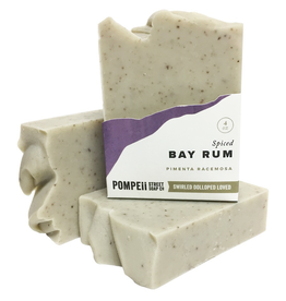 Pompeii Bay Rum Soap 4 oz.