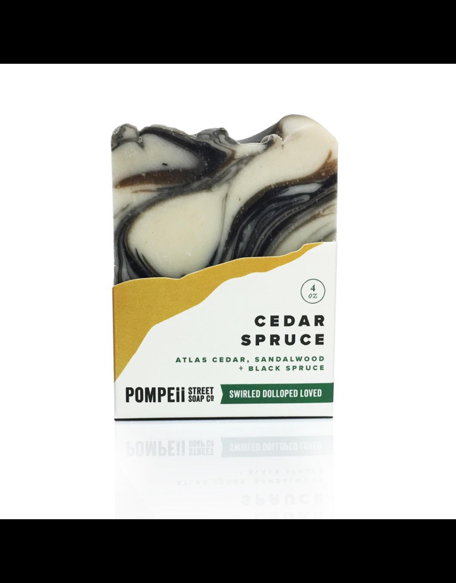 Pompeii Cedar Spruce Soap 4 oz.