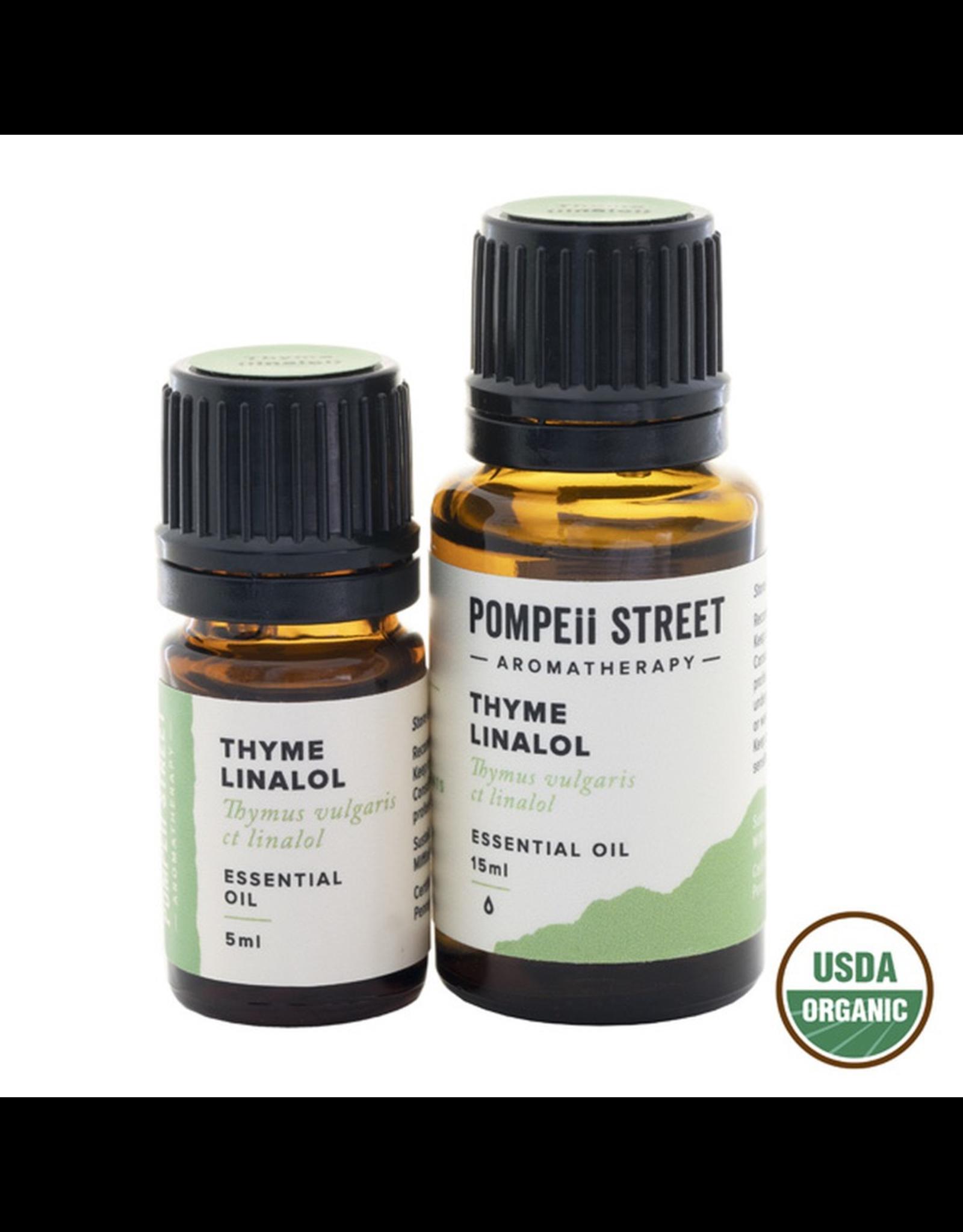 Pompeii Organic Thyme Essential Oil 15ml