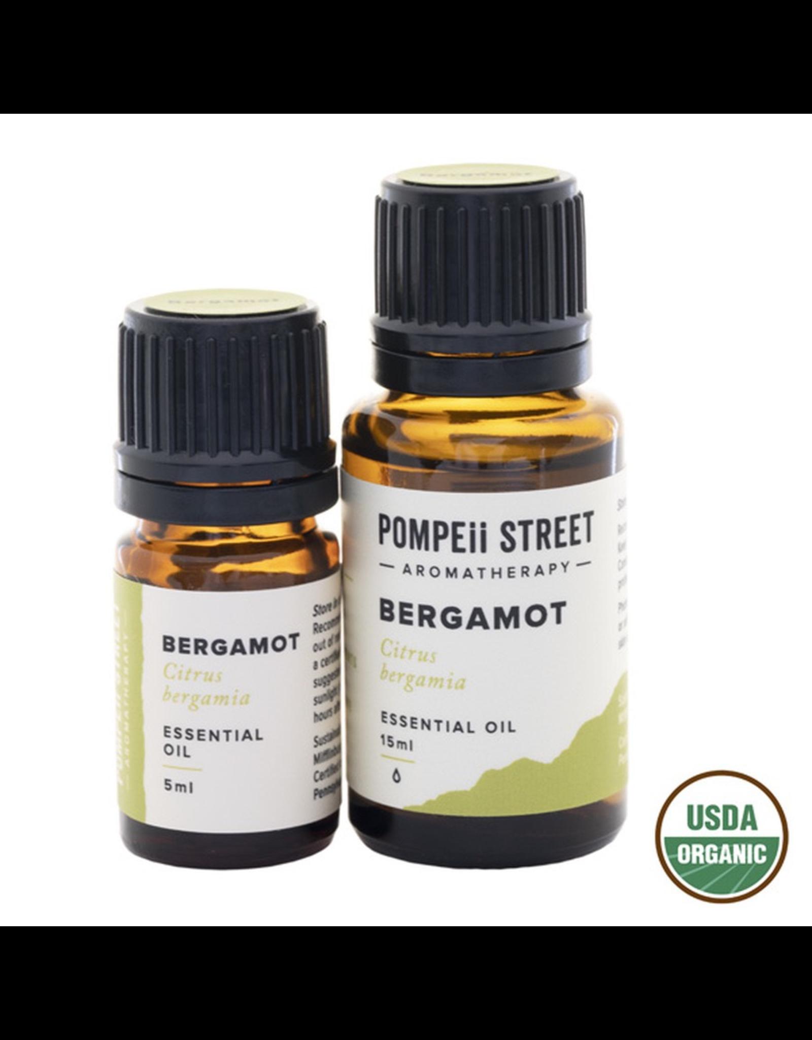Pompeii Organic Bergamot Essential Oil 15ml