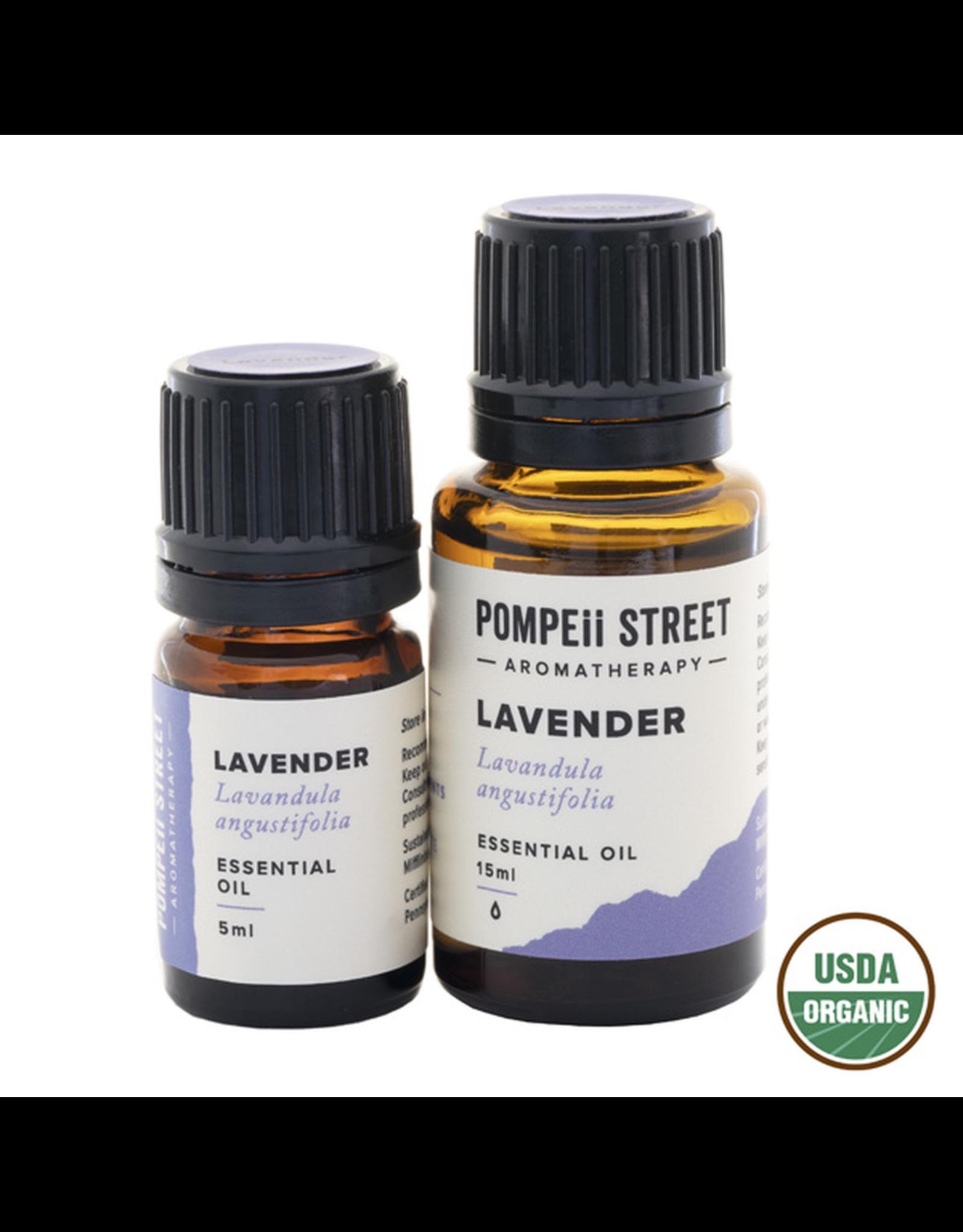Pompeii Organic Lavender Essential Oil 15ml