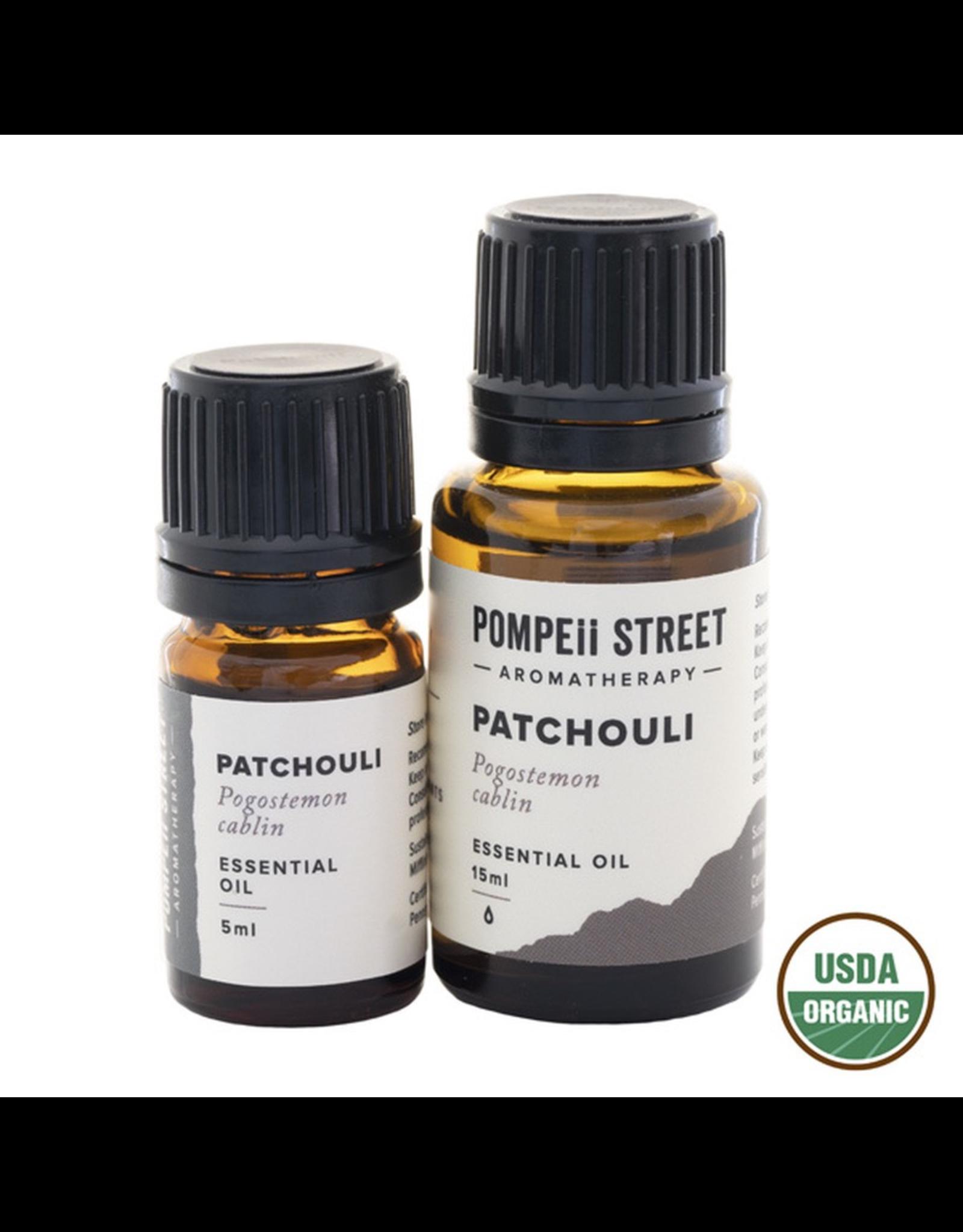 Pompeii Organic Patchouli Essential Oil 15ml