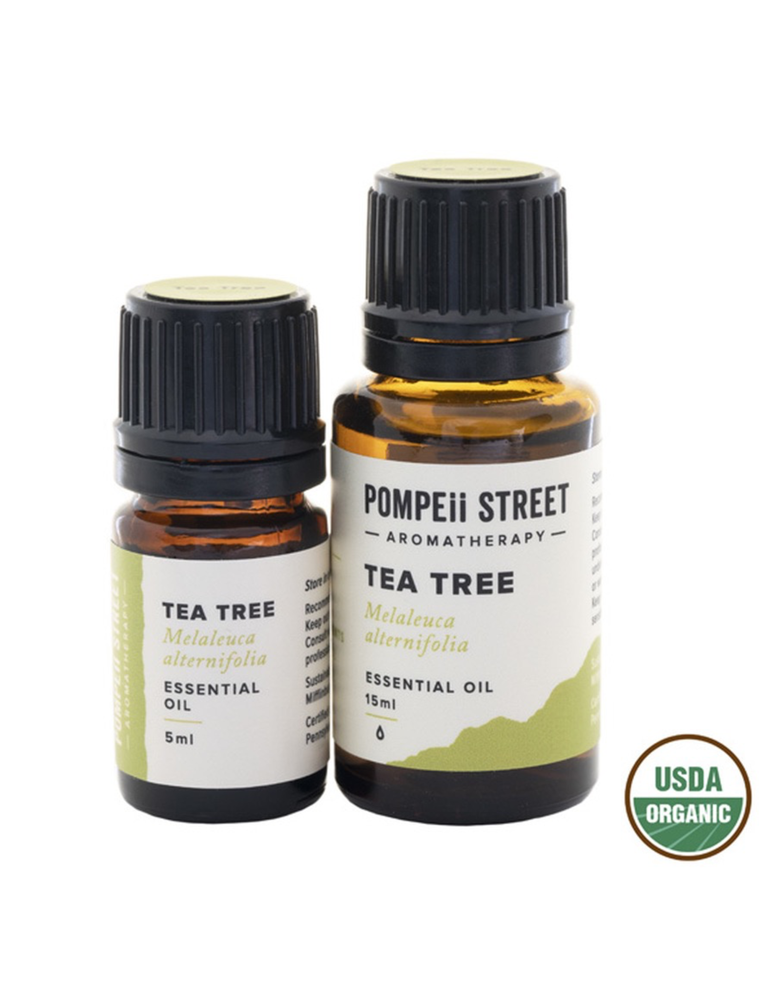 Pompeii Organic Tea Tree Essential Oil 15ml