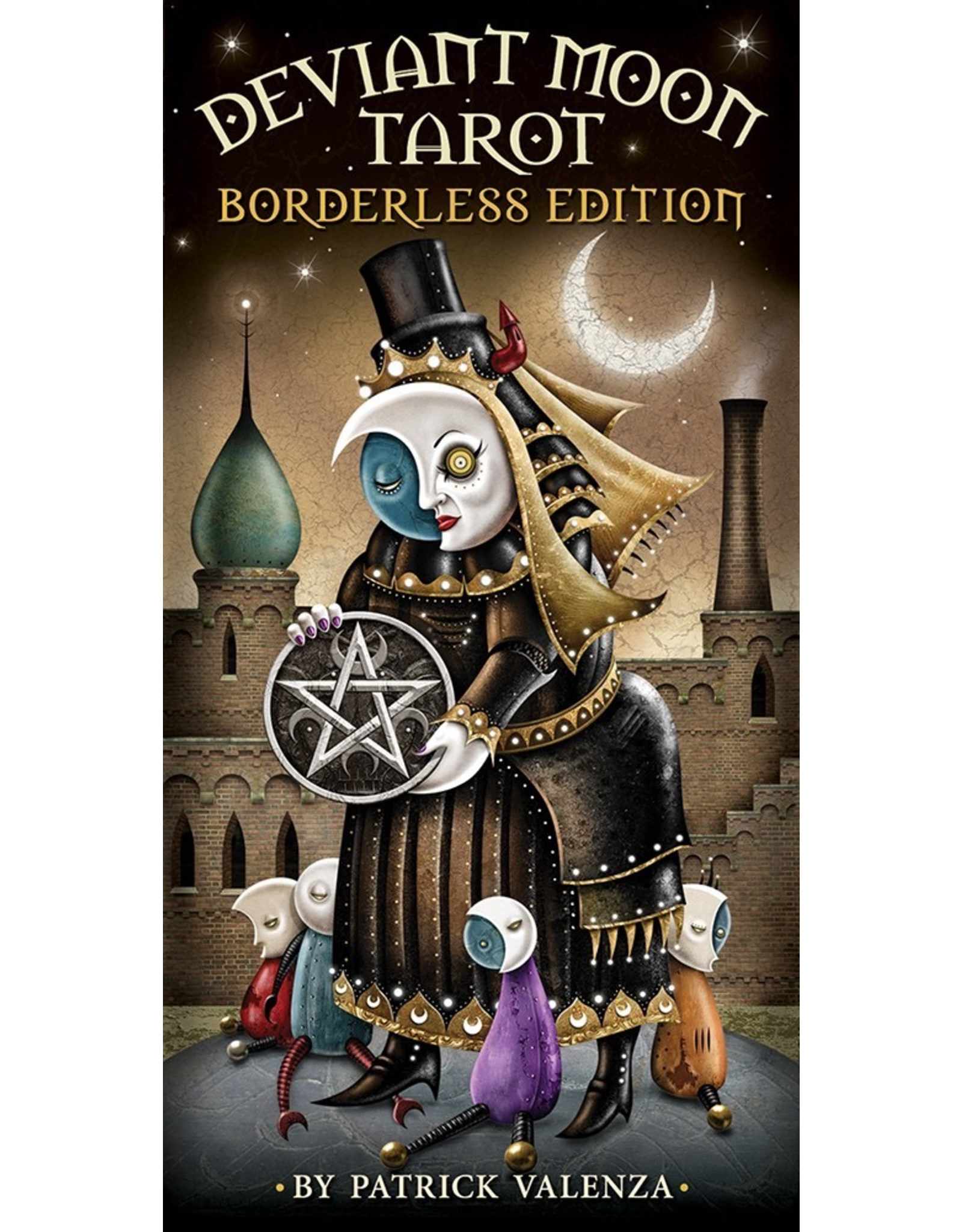 US Games Deviant Moon Tarot Bordeless Edition