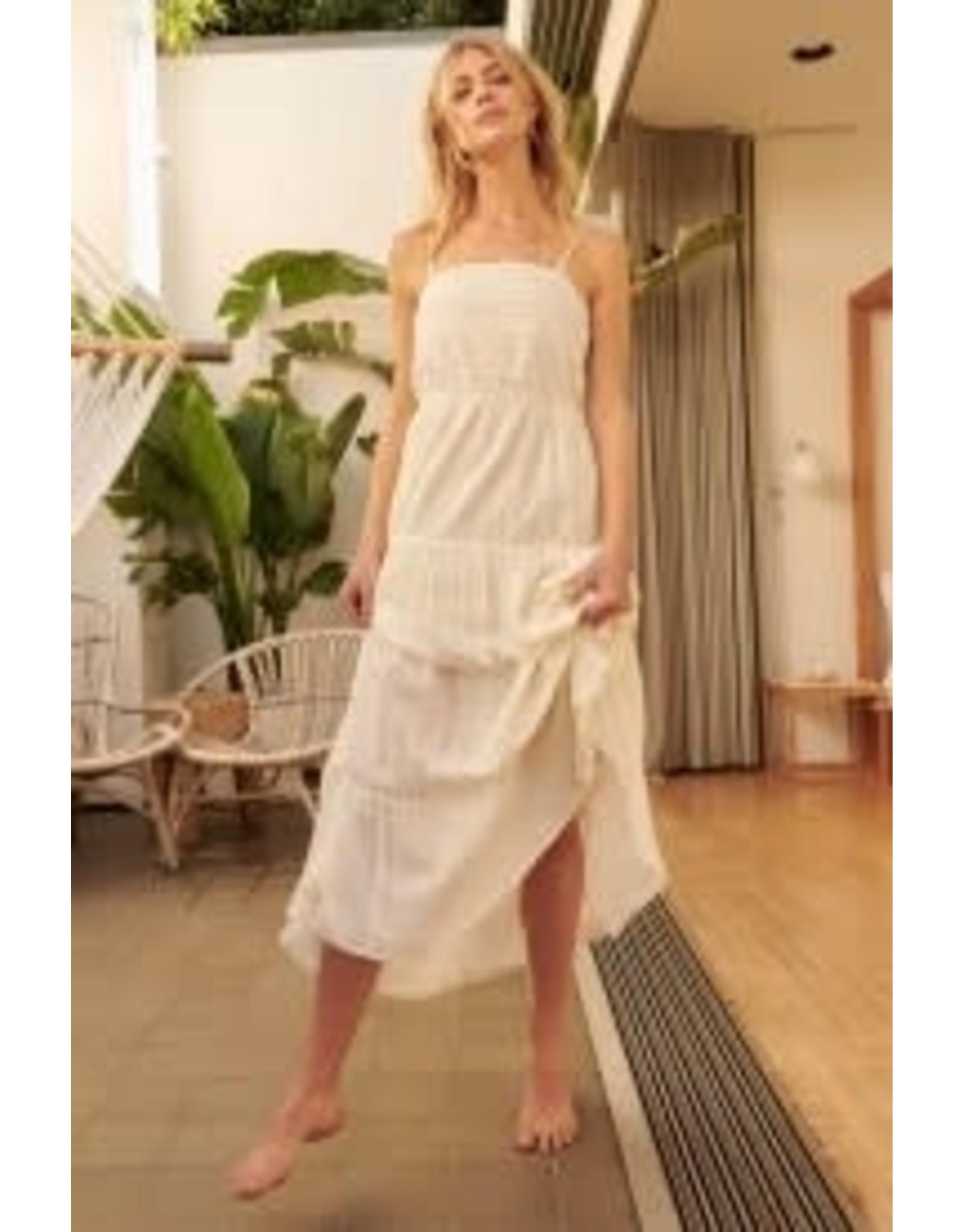 Promesa Crochet Lace Maxi Dress