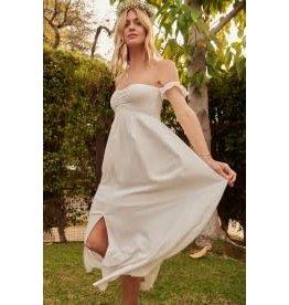 Promesa Empire Waist Maxi Dress