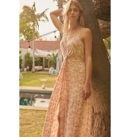 Promesa Tie Dye Jacquard Maxi Dress