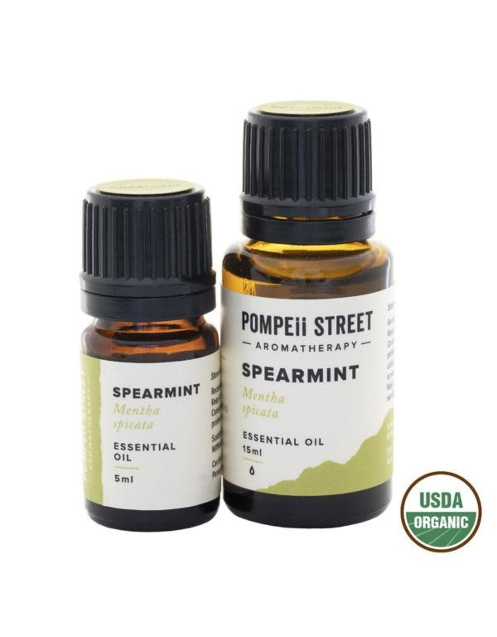 Pompeii Organic Spearmint Essential Oil 15ml