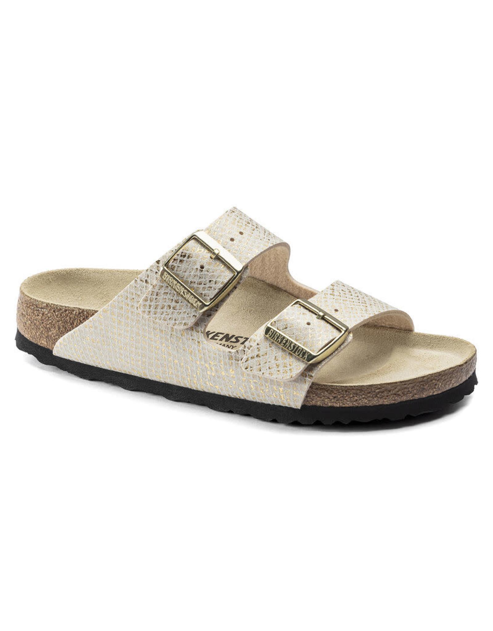 Birkenstock Arizona Shiny Python Microfiber Sandal