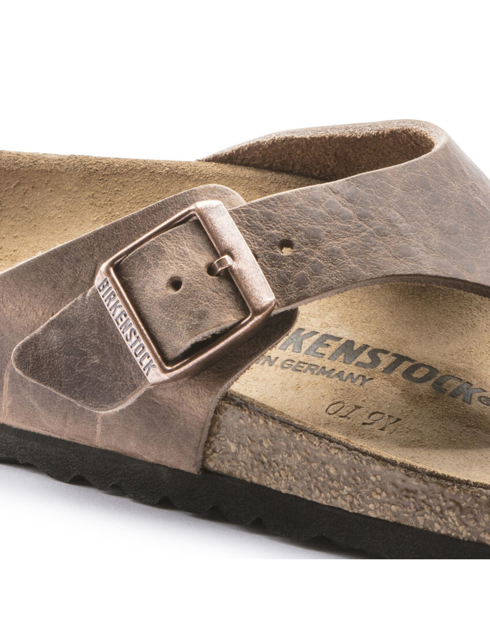 Birkenstock Como Sandal Camberra Old Tobacco Leather