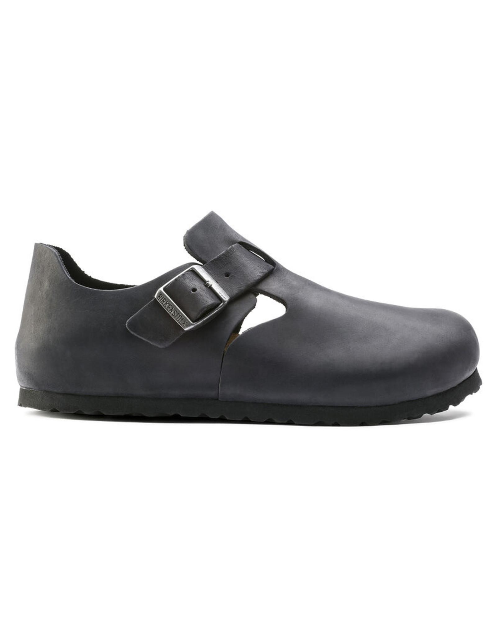 Birkenstock London Buckle Shoe-Blk Oiled