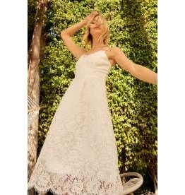 Promesa Sweetheart Lace Maxi Dress