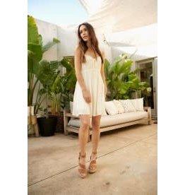 Promesa Front Tie Mini Dress