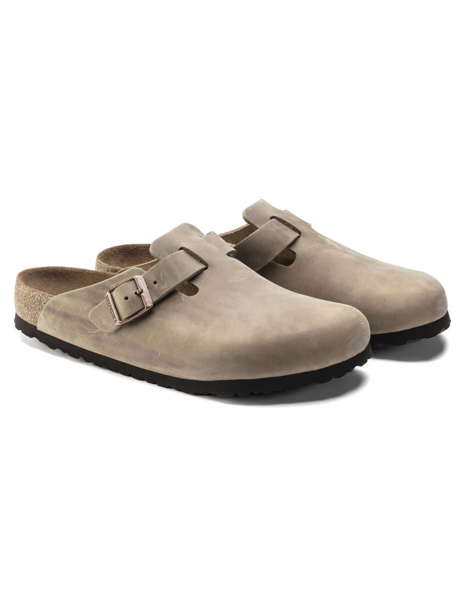 Birkenstock Boston Leather Soft Footbed Clog