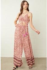 Entro Floral Print Sleeveless Jumper
