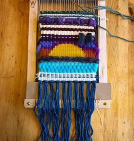 Baaad Anna's Yarn Store Frame Weaving Workshop