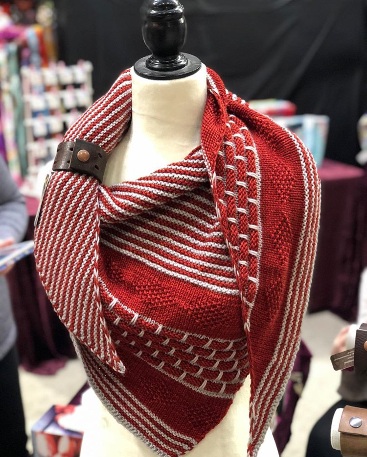 Knox Mountain Shawl and Cowl Cuff