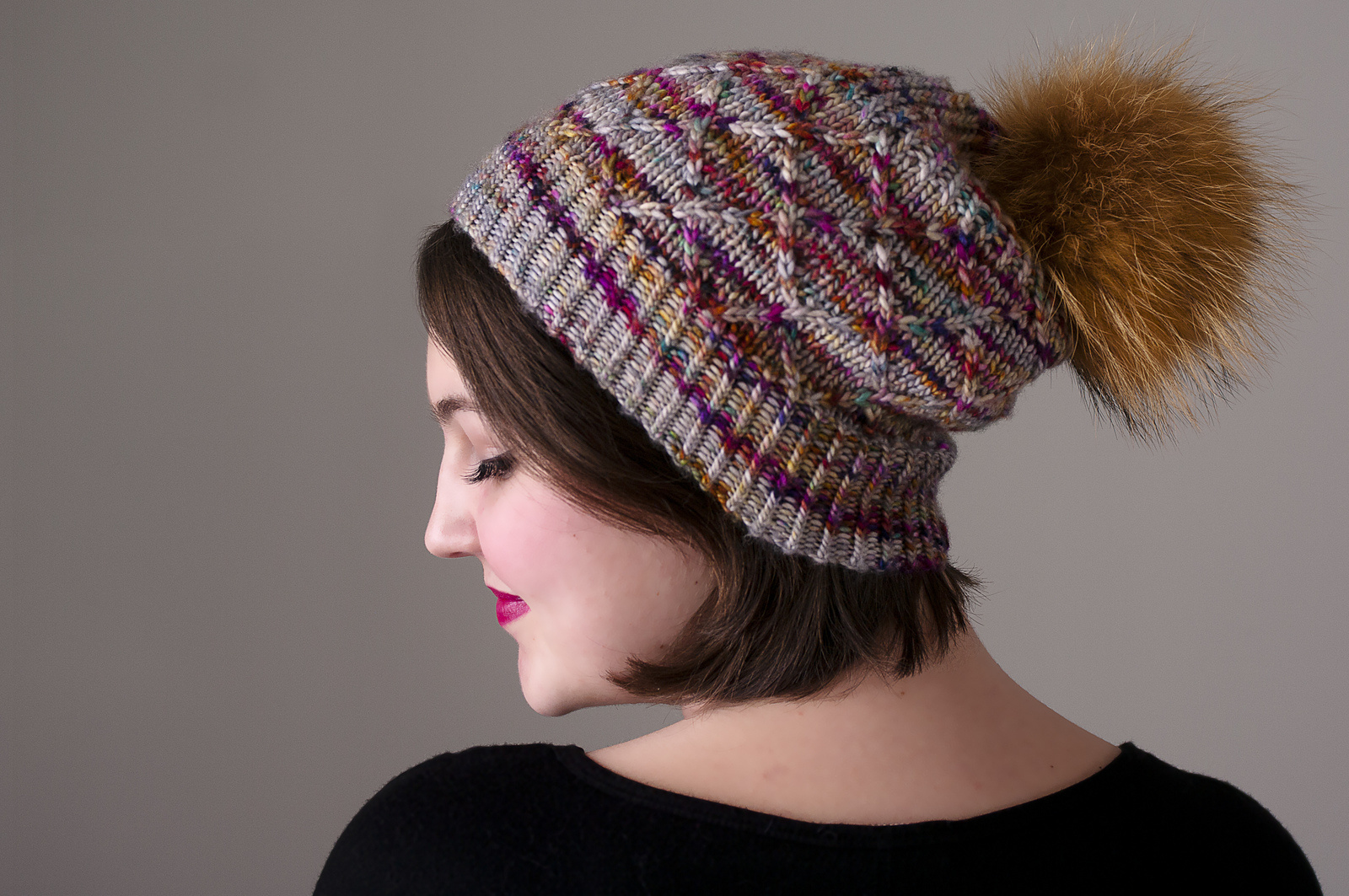 Knox Mountain Knit Co. Knox Mountain Pattern Myra Hat