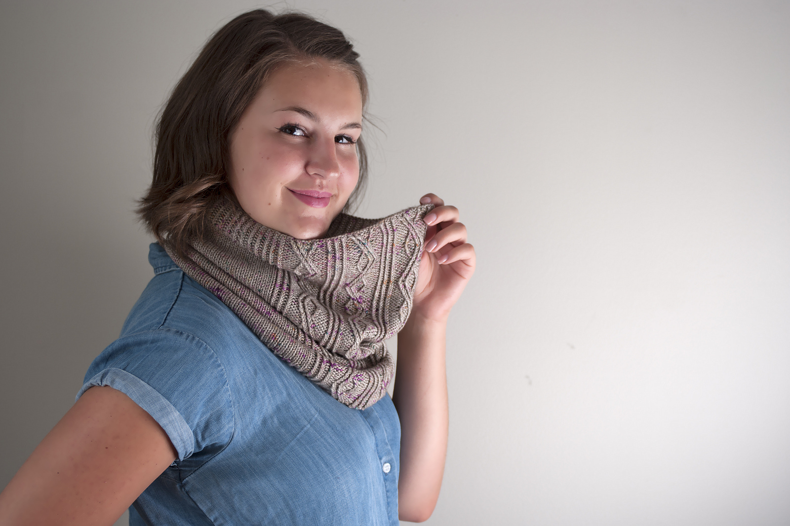 Knox Mountain Knit Co. Knox Mountain Pattern Coquihalla Cowl