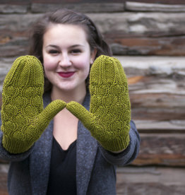 Knox Mountain Knit Co. Knox Mountain Pattern Chestnut Mittens