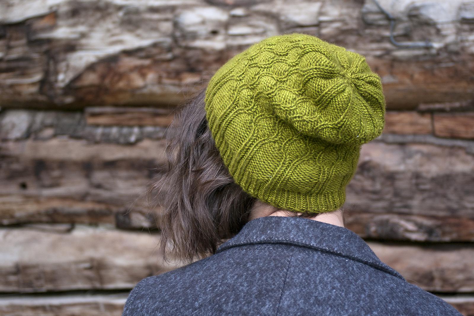 Knox Mountain Knit Co. Knox Mountain Pattern Chestnut Hat