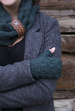 Knox Mountain Pattern Chestnut Cowl