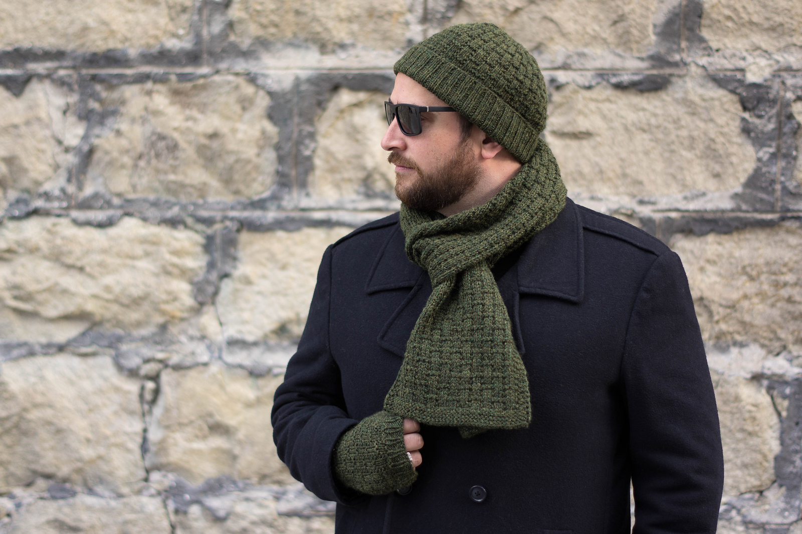Knox Mountain Knit Co. Knox Mountain Pattern Bernard Scarf