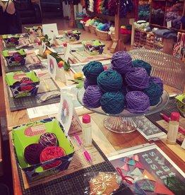 Baaad Anna's Yarn Store Road Trip Yarn Tasting Event 2019