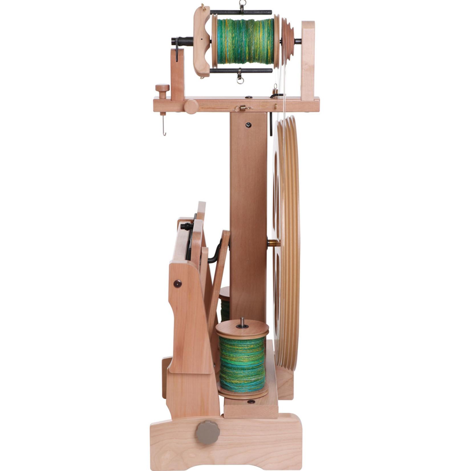 Kiwi 3 Natural Spinning Wheel