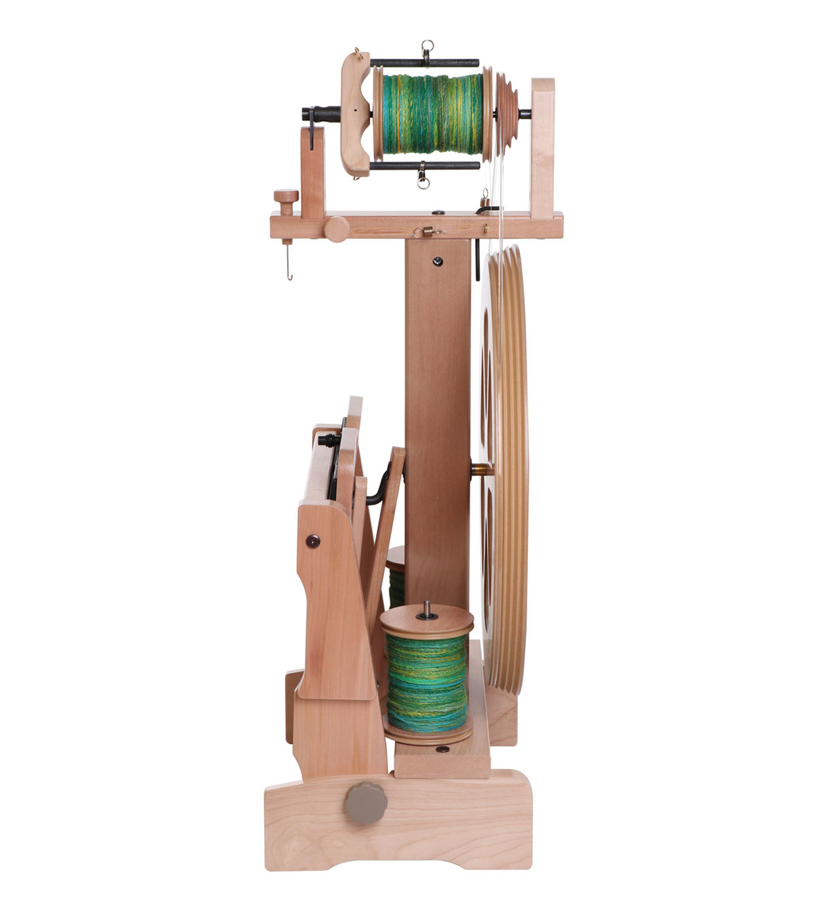 Kiwi 3 Natural Spinning Wheel