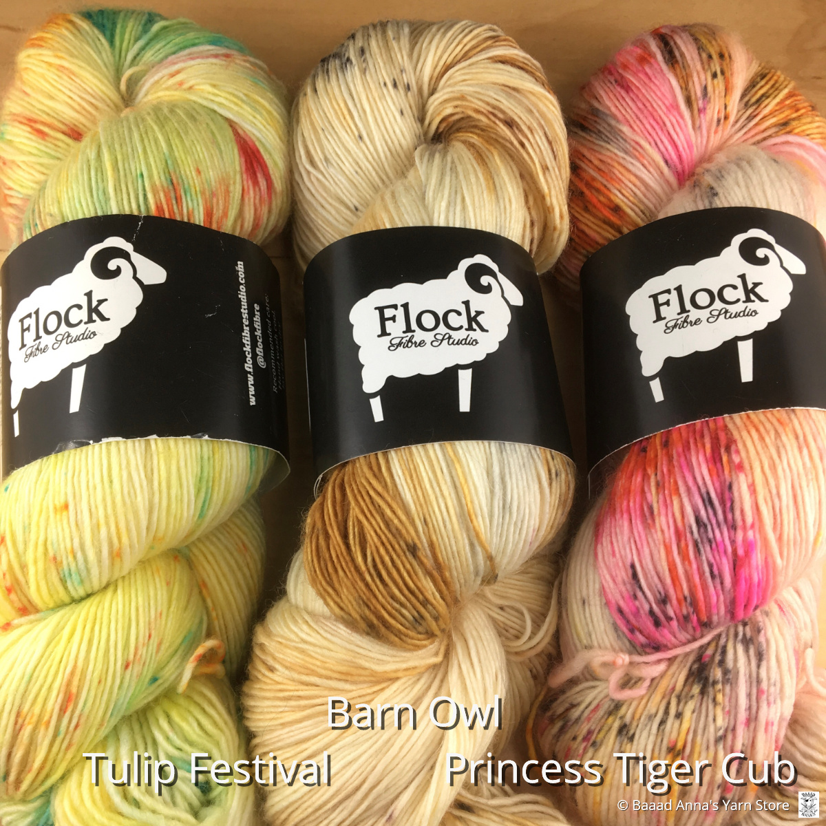 Flock Fibre Studio Flock Lone Pine Singles