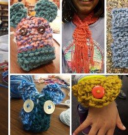 Kids Learn to Knit Class