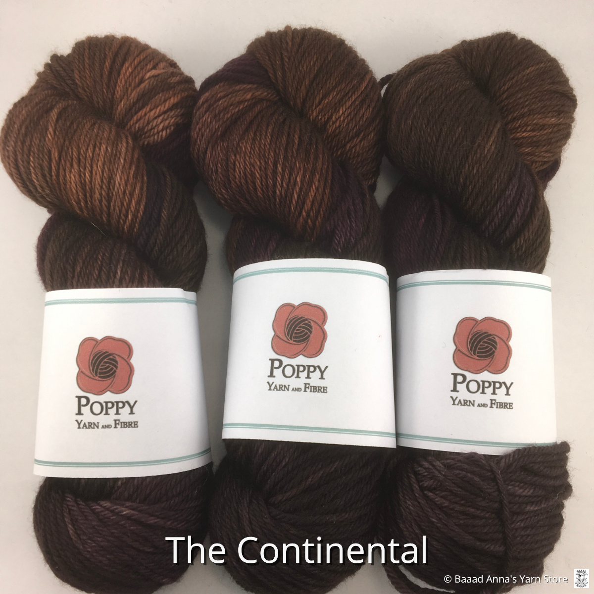 Poppy Yarn and Fibre Poppy Yarn and Fibre Revelstoke Worsted