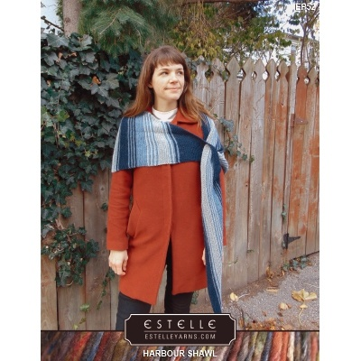 Estelle Double Knit 3-Skein Shawl Kit