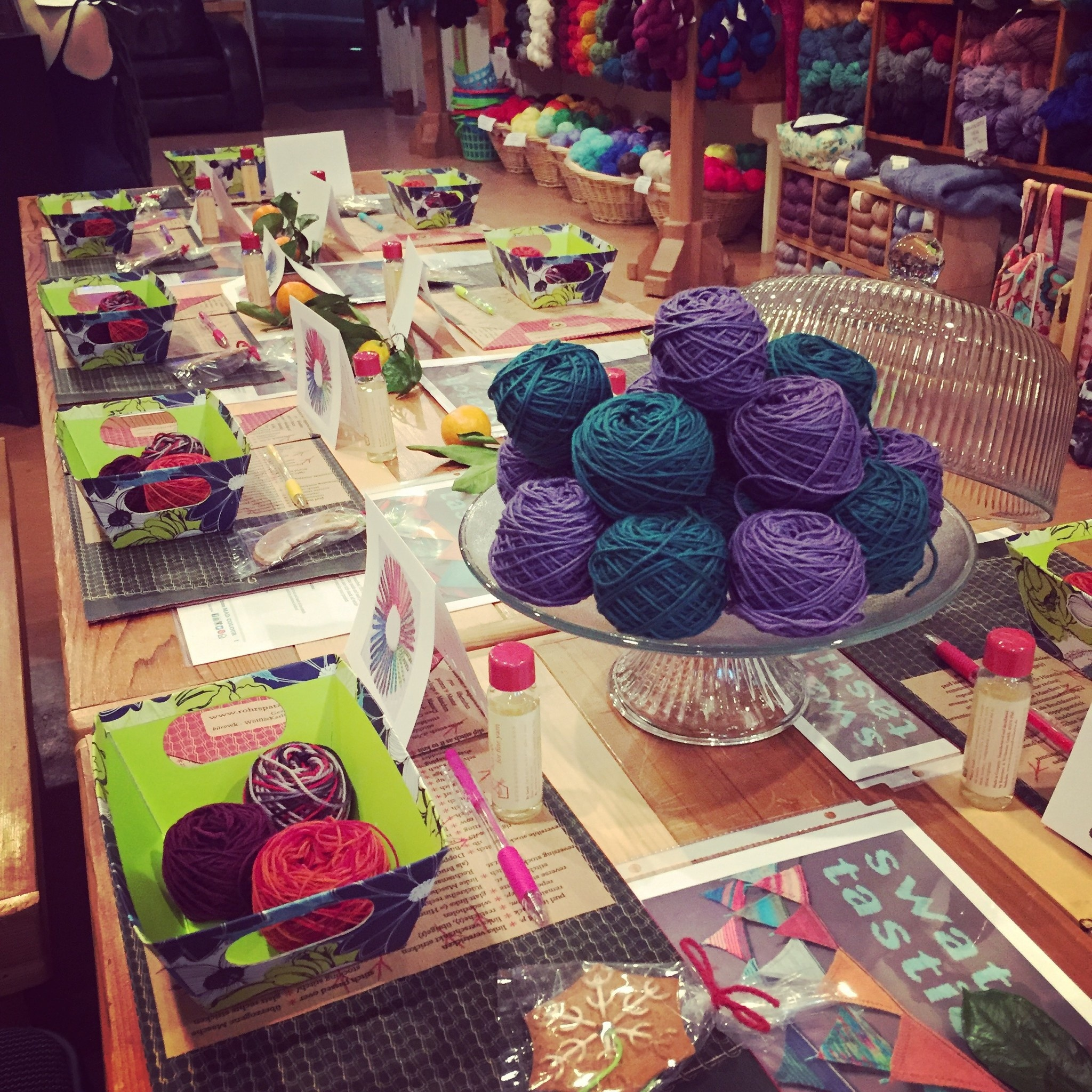 Winter 2020 Yarn Tasting