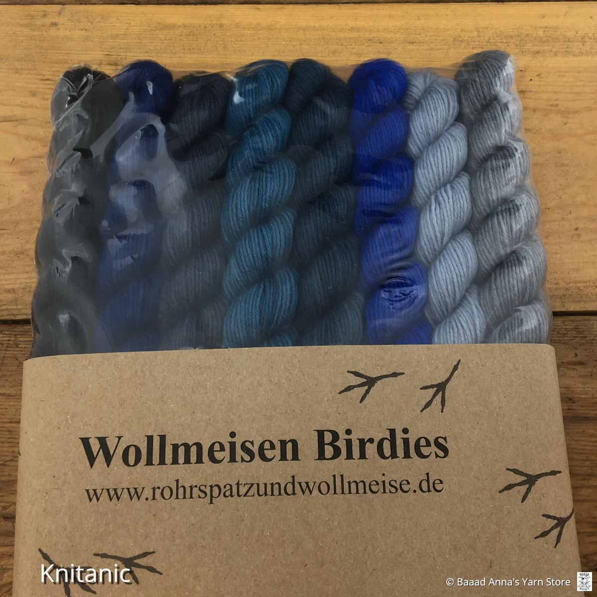 Rohrspatz & Wollmeise Wollmeise Twin Birdies 8pk