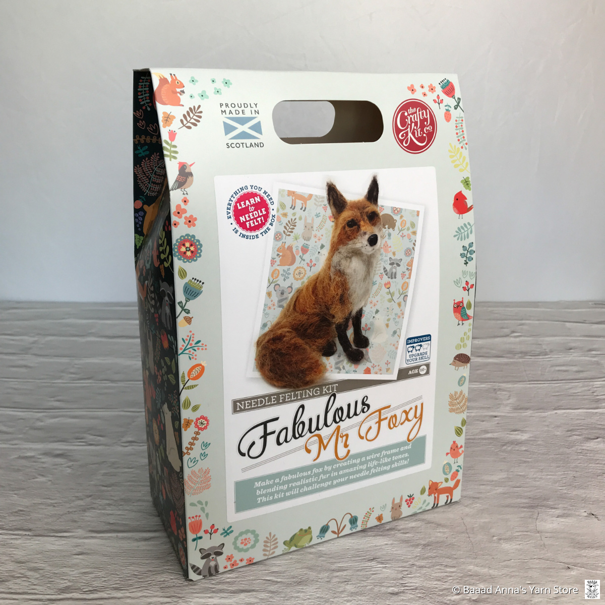 Estelle Felting Kit Fabulous Mr. Foxy